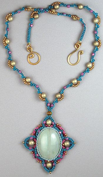 19 macramé necklace patterns | guide patterns.